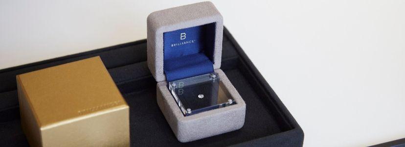 BRI+ダイヤモンドでプロポーズ用ボックス