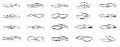 アイプリモ(iprimo)指輪の種類