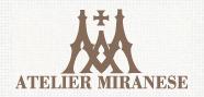 アトリエミラネーゼ ロゴ