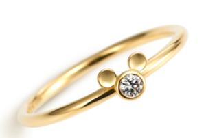 デイズニー結婚指輪 ミッキー