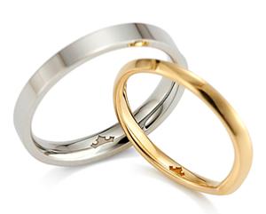デイズニー結婚指輪 美女と野獣