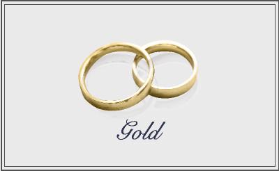 結婚指輪はゴールドにしたい方へ~選び方と人気のゴールドリング~