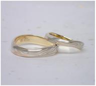 木目金によって作られた指輪(口コミ・評判①)