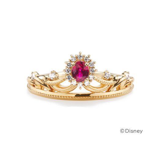 ディズニー結婚指輪 美女と野獣