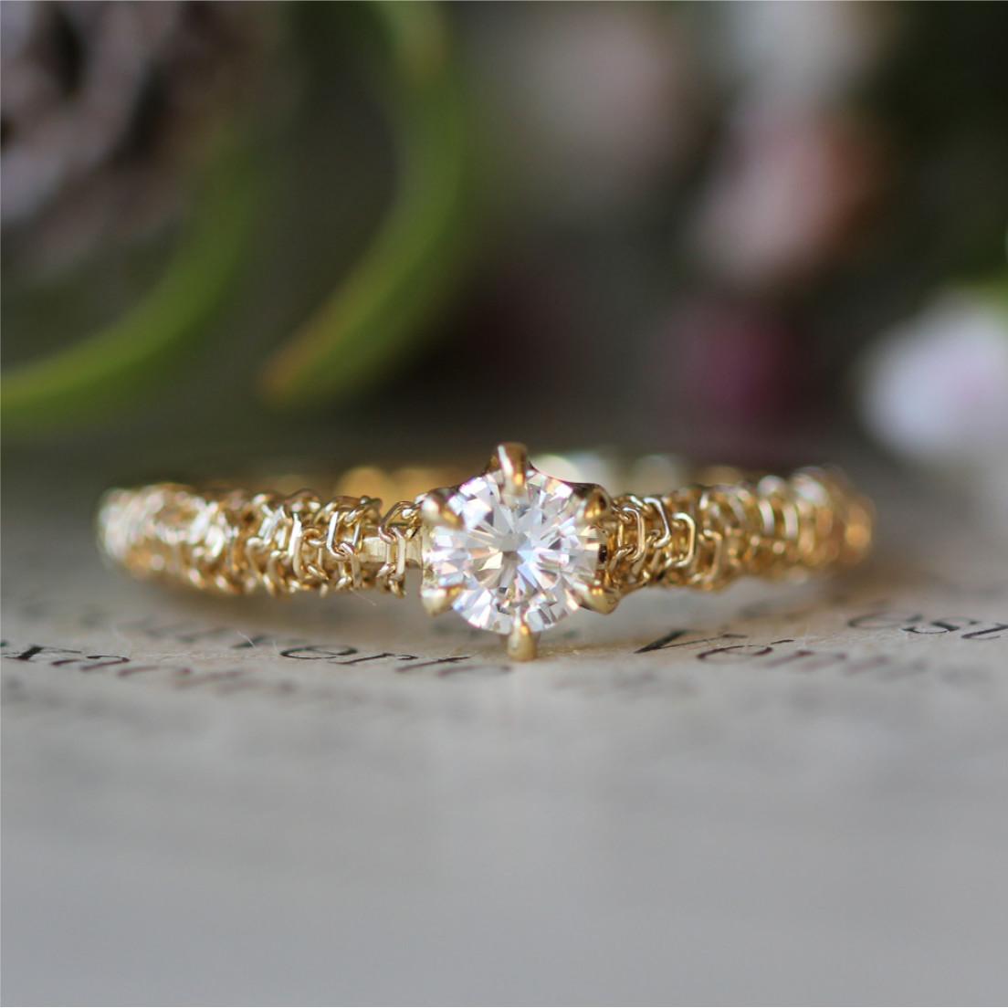 ith(イズ)結婚指輪オーダーメイド例1