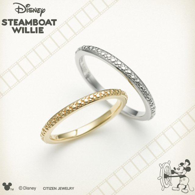 ディズニー 指輪 ディズニー スチームボートウィリー