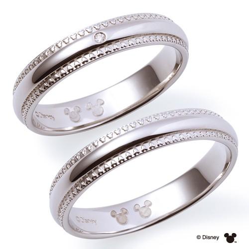 ディズニー 結婚指輪 ミルがミッキーのマリッジリング