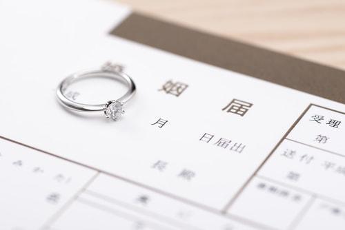 婚姻届の提出