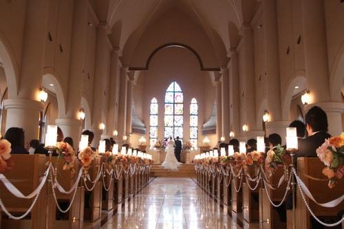 結婚式の流れを決める